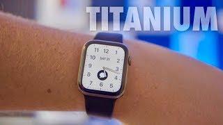 Titanium Apple Watch Edition Series 5 Impressions