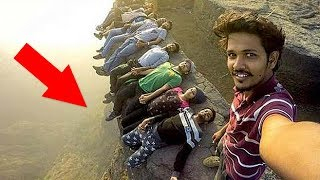 10 Most Dangerous Selfies Ever Taken thumbnail