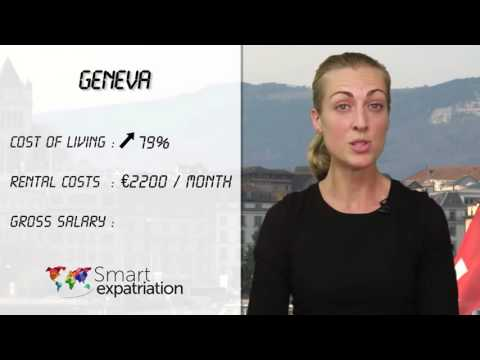 Geneva - Cost of Living, Rental Costs & Gross Salary