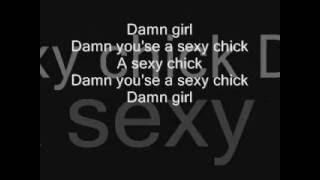 David Guetta ft Akon Sexy Chick [ Lyrics On Screen ]