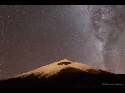 Cotopaxi Volcano Time Lapse Movie دونة منفعة