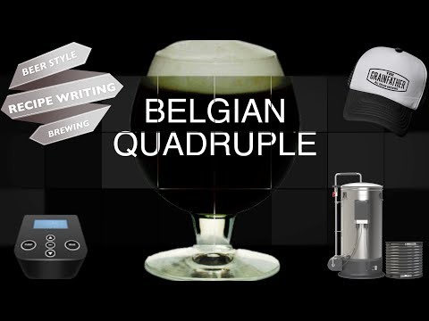 Belgian Quadrupel Beer Style Recipe Writing & Brewing Guide Grainfather 4k HD