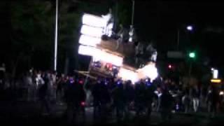 2010年堺市南区上神谷泉田中宵宮 撮影:清治.