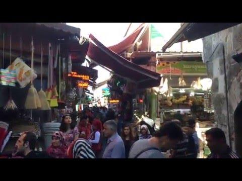 Istanbul market life