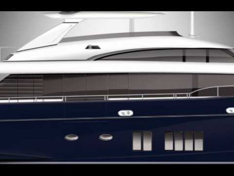 Princess 32M Flybridge Motor Yacht - DNA Advertising