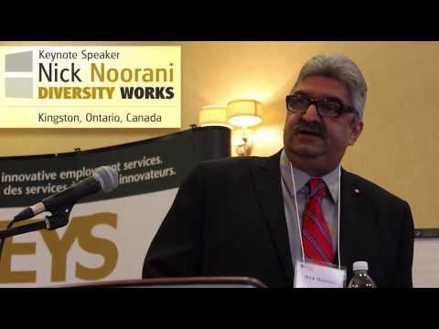 @NICKNOORANI | Diversity Works 2013 | KEYS Job Centre
