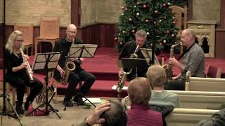 """""""Improvisations"""" 1 & 2, of 3 by Phil Woods performed by the Toronto Sax Quartet"""