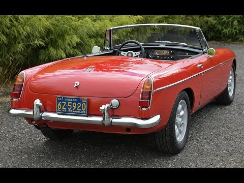 1964 MGB - Cascadia Classic