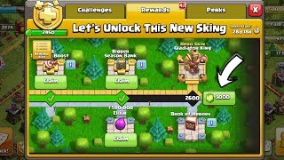 "Let's Unlock This New ""Gladiator Skin"" With 3000 Gems In 1 Min - Clash Of Clans India"