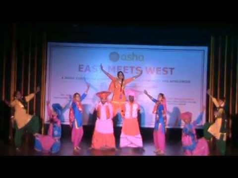 East Meets West 2015 - Punjabi Bhangra by students from Peeragarhi slum