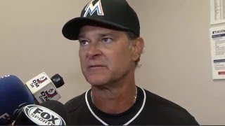 Don Mattingly - Miami Marlins vs. Philadelphia Phillies postgame 5/17/16