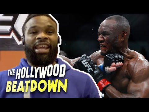 Tyron Woodley Wants 3 Fights in 3 Weeks, Wants Rematch with Kamaru Usman   The Hollywood Beatdown