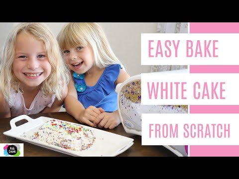 Easy Bake Oven White Cake Recipe 🍰 (from Scratch 🥣)