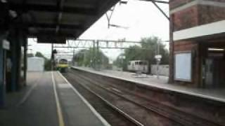 Trains at Shenfield station 7/5/11