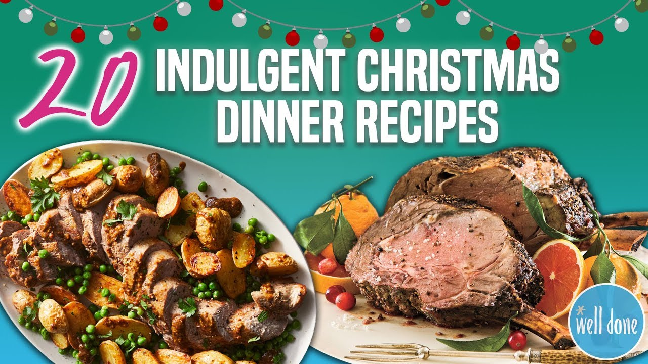 20 Best Christmas Dinner Recipes Holiday Main Dish And Entree Recipe Compilation Well Done Youtube