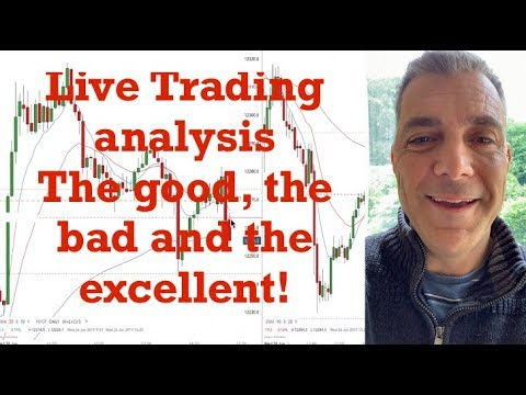 Live trading on DAX Index (The good, bad and the excellent) analysis