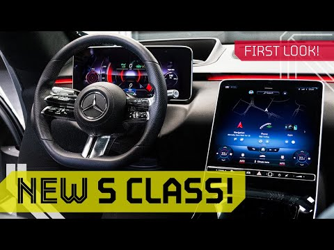 New 2021 S-CLASS INTERIOR! Future of Mercedes Luxury Technology!