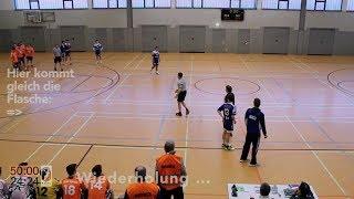Handballregeln: Rudelbildung, 2 Rote Karten, Flaschenwurf