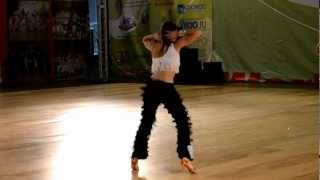 World Dance Olympiad 2012. Bachata Solo. Garifova Yuliana
