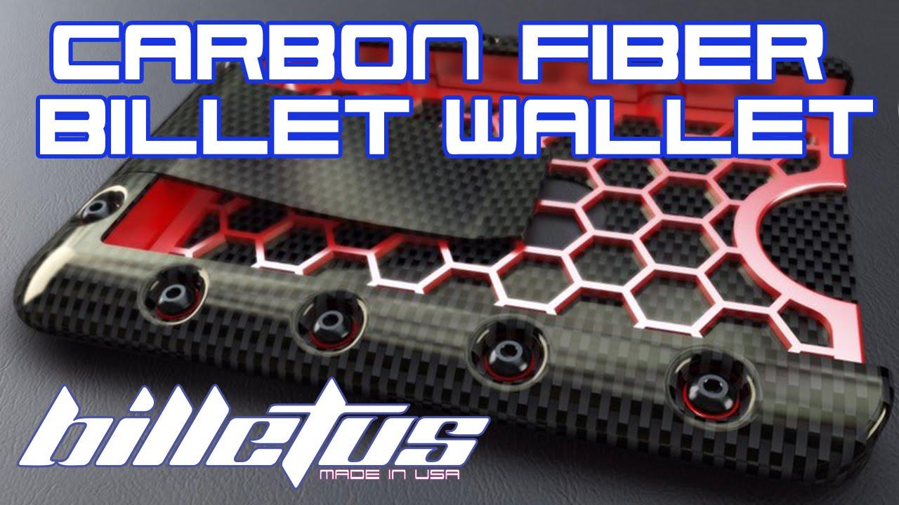 Billetus A Carbon Fiber Billet Wallet Youtube