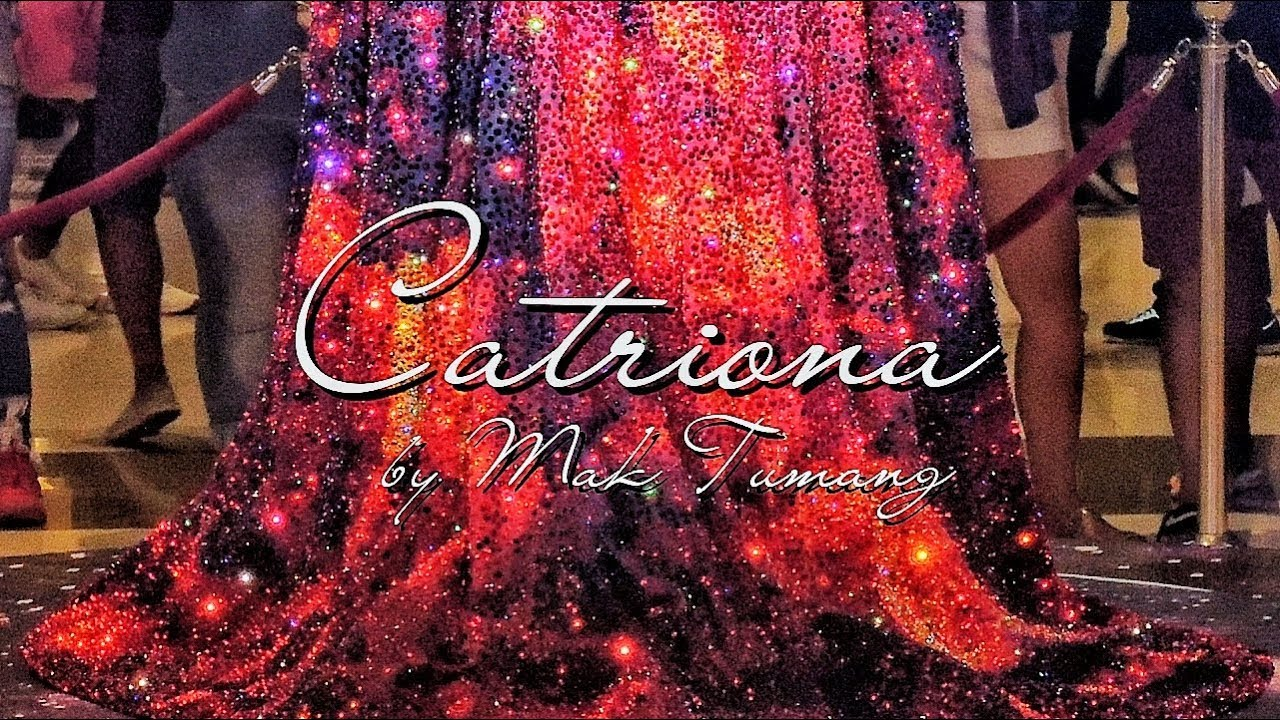 Catriona By Mak Tumang Miss Universe 2018 Catriona Grays Gown