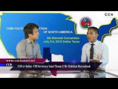 CCN Le Dallas CYO Secretary Salai Thang Ci He Ton Biaruahnak