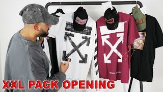 XXL FASHION PACK OPENING ! OFF WHITE - YEEZY - DSQUARED2