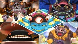 Yo-kai Watch 2 - All Bosses (Infinite Inferno & Divine Paradise)