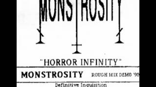 Monstrosity - Horror Infinity - Rough Mix Demo 1990