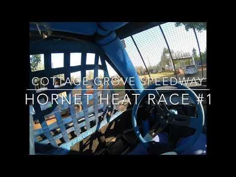 Cottage Grove Speedway 5/11/19 Hornet heat 1