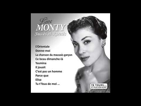 Line Monty - La Chanson Du Mauvais Garçon