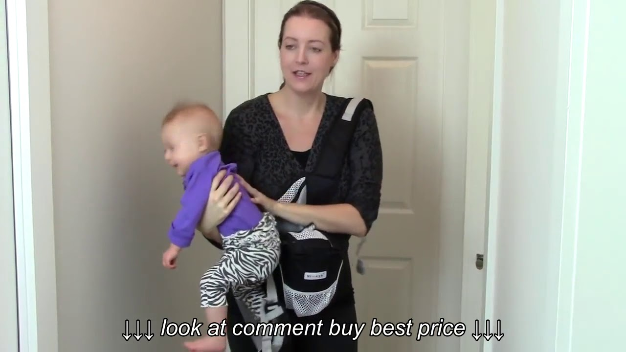 4 In 1 Nimnik Baby Carrier With Hip Seat A Must Try Allison S Journey