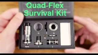 First Look: Aspire Quad-Flex Survival Kit! Giving Away 5 Kits!