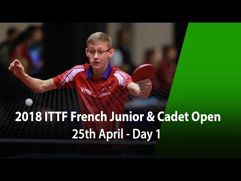 2018 French Junior & Cadet Open - Day 1