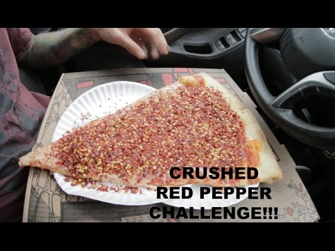 CRUSHED RED PEPPER CHALLENGE! BAD IDEA!!!