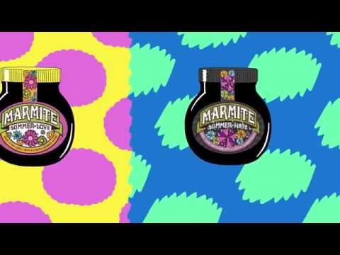 Marmite Summer of Love not Hate