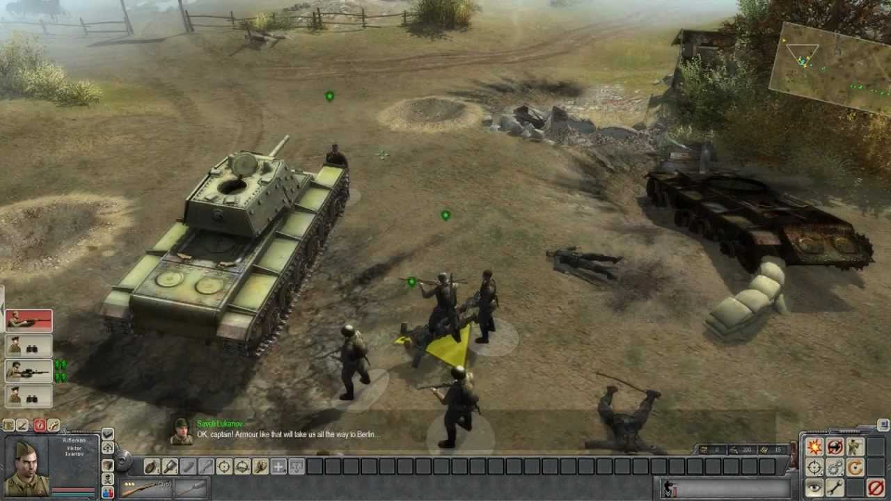 Men Of War - Soviet Campaign Walkthrough - Mission 1 ...