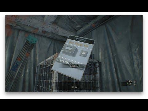 Resident Evil 7 Repair Kits Locations