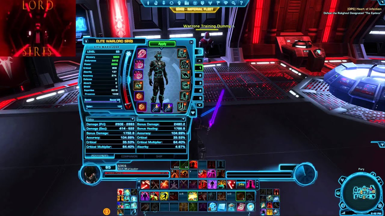Swtor Pvp 4 0 4 0 Carnage Marauder Guide Youtube