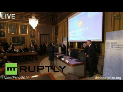 LIVE: Swedish Academy announces the Nobel Prize in Chemistry 2014
