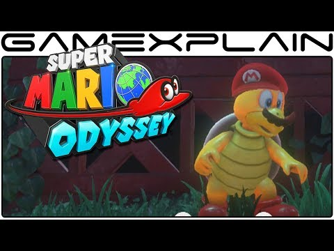 Super Mario Odyssey - 10 Minutes of Steam Gardens Gameplay (Direct Feed)