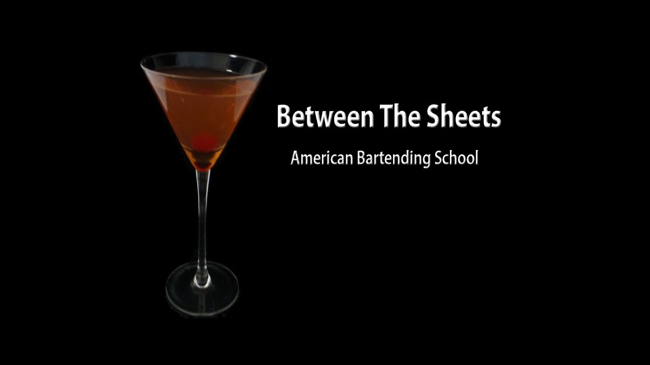 Between The Sheets Cocktail Drink Recipe - YouTube