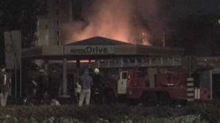 Вночі у Коломиї біля автостанції розпочалась пожежа
