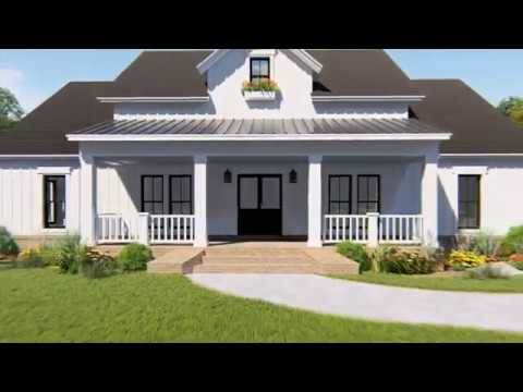 MODERN FARMHOUSE HOUSE PLAN 348-00279