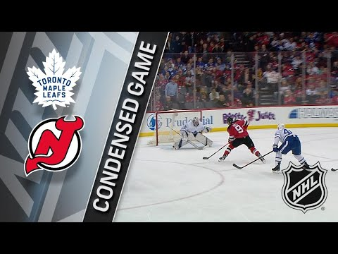 04/05/18 Condensed Game: Maple Leafs @ Devils
