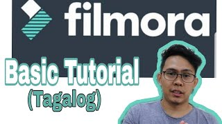 Tutorial: Easy Basic Filmora 9 Tutorial l For Beginners l Tagalog