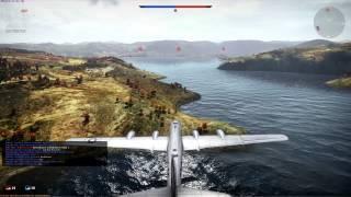 War Thunder Gameplay - B-29 Base Bombing! EASY RP/