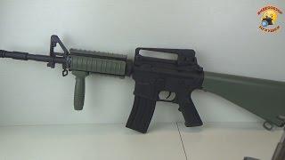 автомат на пульках carbine м4 sr 16 bi 3081c