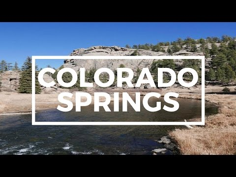 Mountains, Rivers and Trails in the Colorado Springs area