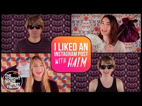 I Liked an Instagram Post with HAIM